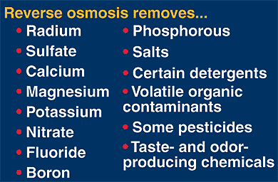 reverse osmosis benefits