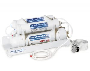 apec portable counter top ro filter